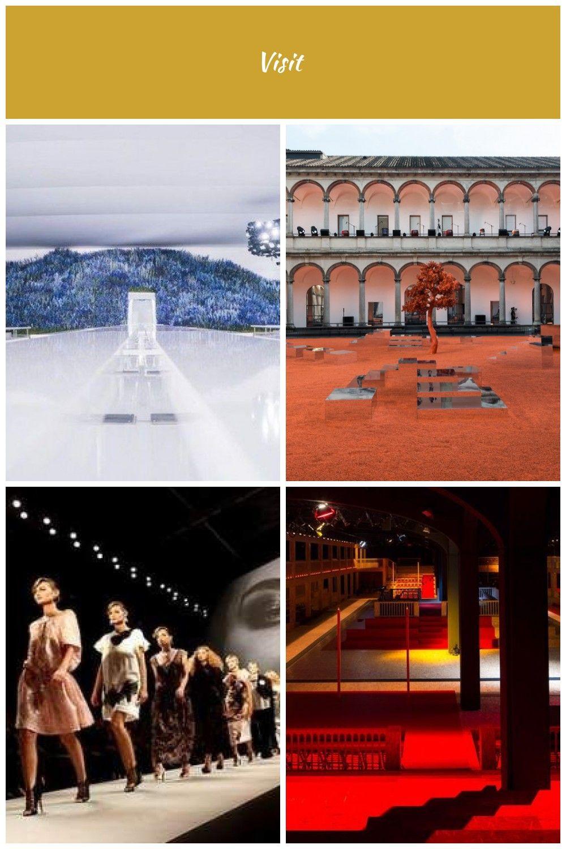 64 id es de d fil Sc nographie Christian Dior defiles Scenographie