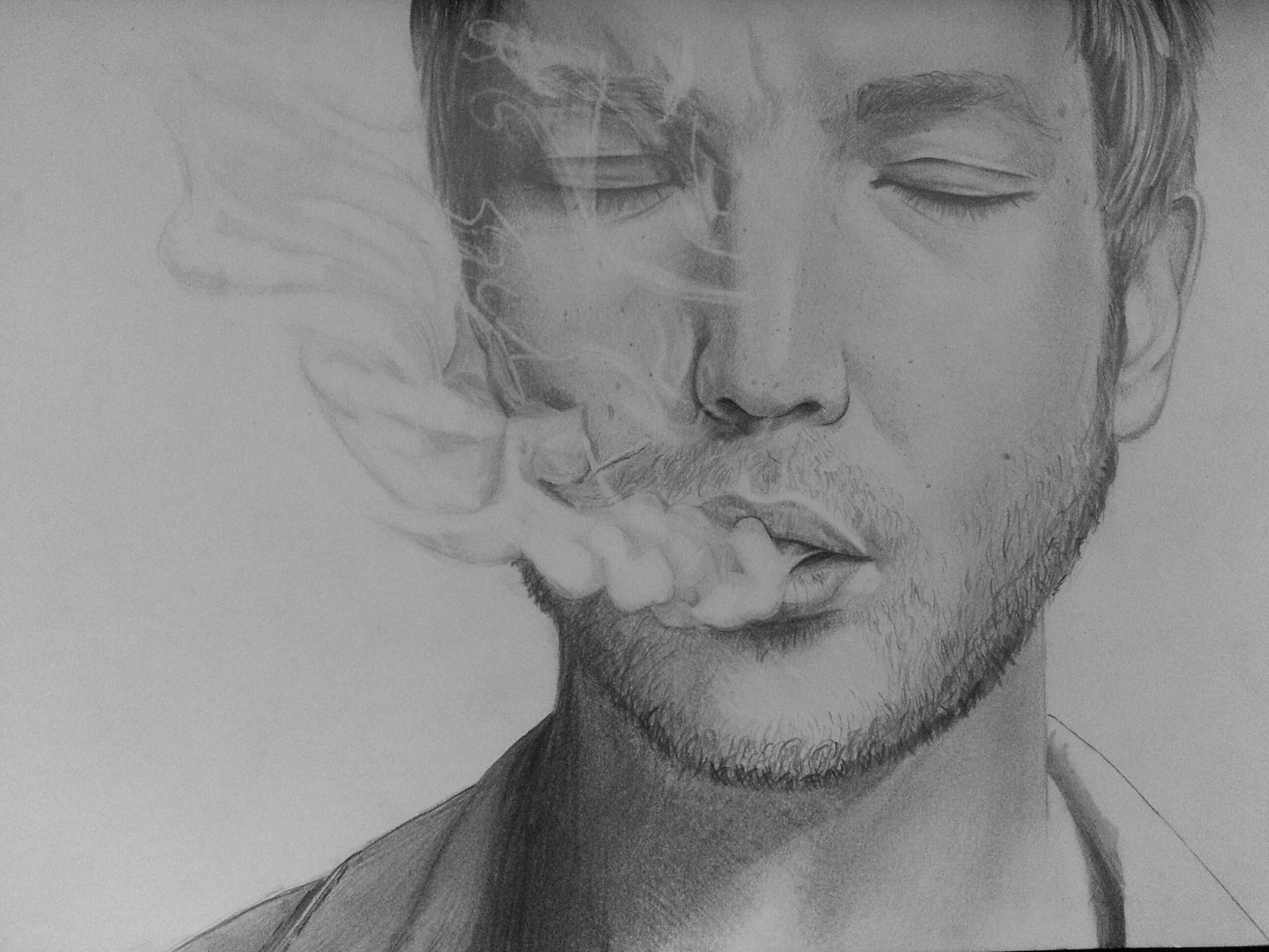 How to draw smoke with pencil google zoeken tatoo ideas smoke