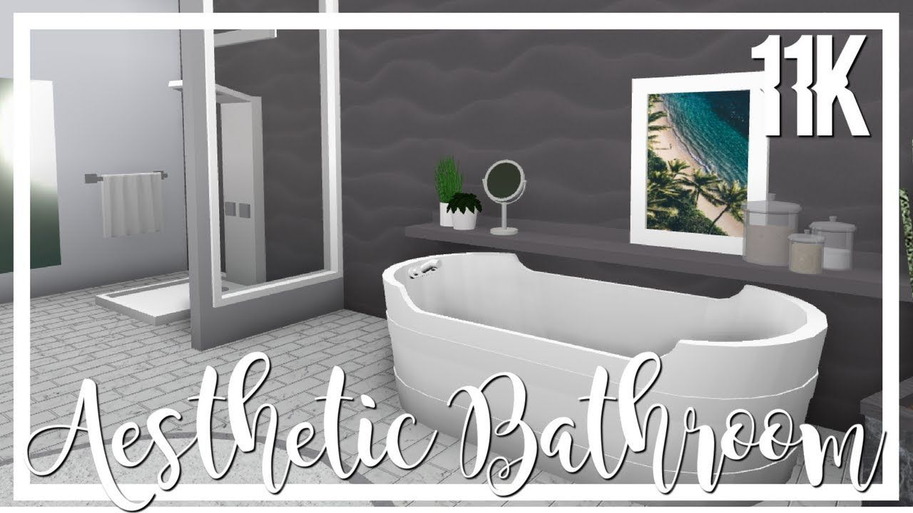 Bathroom Ideas Bloxburg In 2020 Cute Bathroom Ideas Bathroom Design Decor Bedroom House Plans
