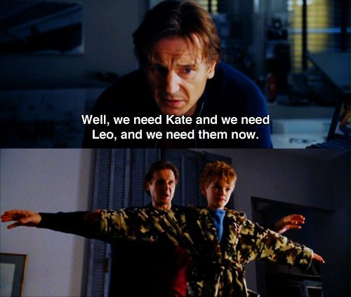 Liam Neeson and Thomas Sangster in Love Actually | Movies I wouldn ...