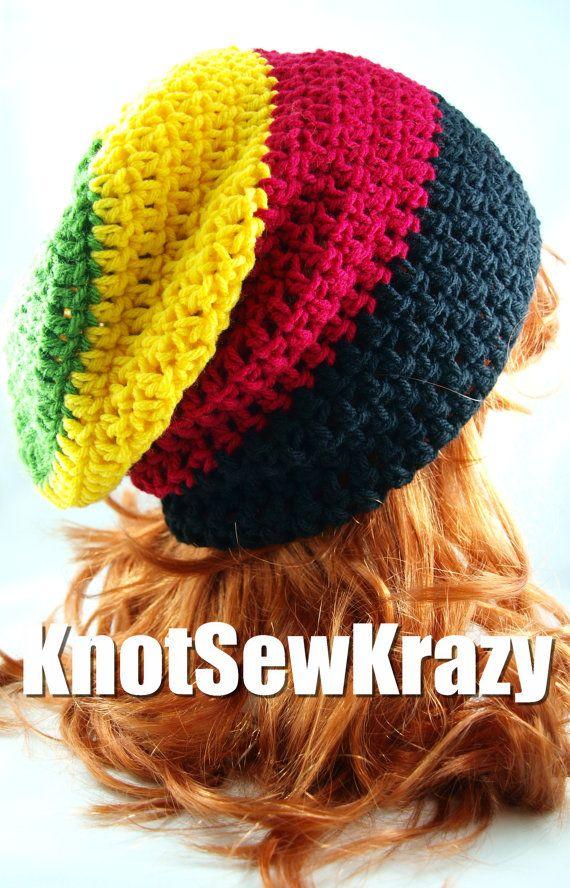 Slouchy Crochet Beanie | Crochet: Women\'s | Pinterest | Gorros ...