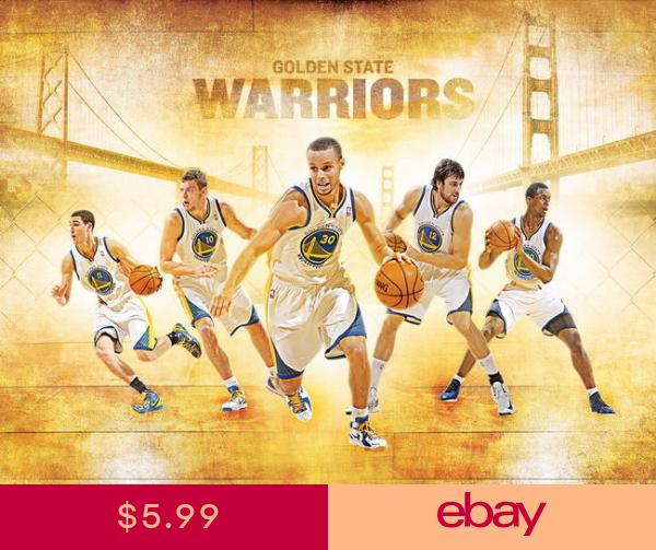 038 Klay Thompson Nba Basketball Warriors Stars 19x14 Poster Golden State Warriors Golden State Warriors Wallpaper Nba Golden State Warriors