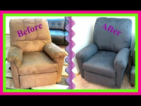 How To Reupholster A Recliner Chair Youtube Recliner Cover