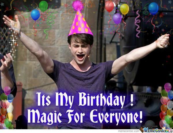 80 Top Funny Happy Birthday Memes Birthday Meme Happy Birthday Meme Harry Potter Birthday Meme