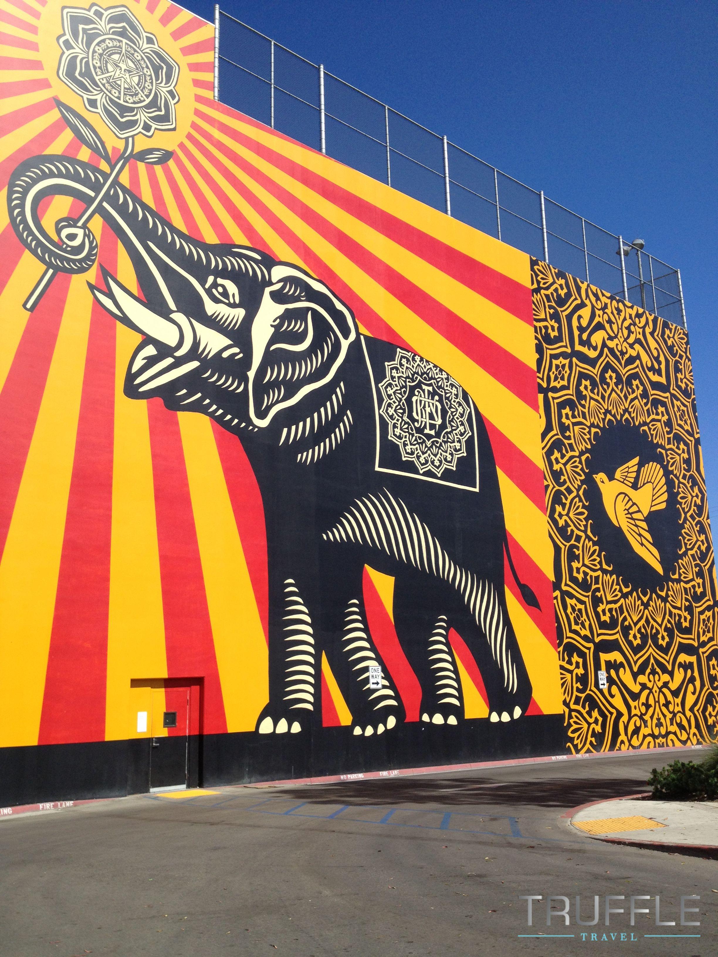Elephant Graffiti Therapist Bag