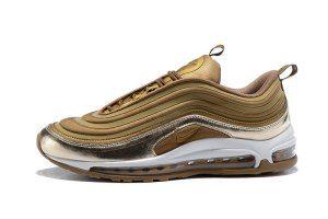 db0f588fed7 Mens Shoes Nike Air Max 97 Ultra 17 Se Metal Gold White Nike Air Max Running