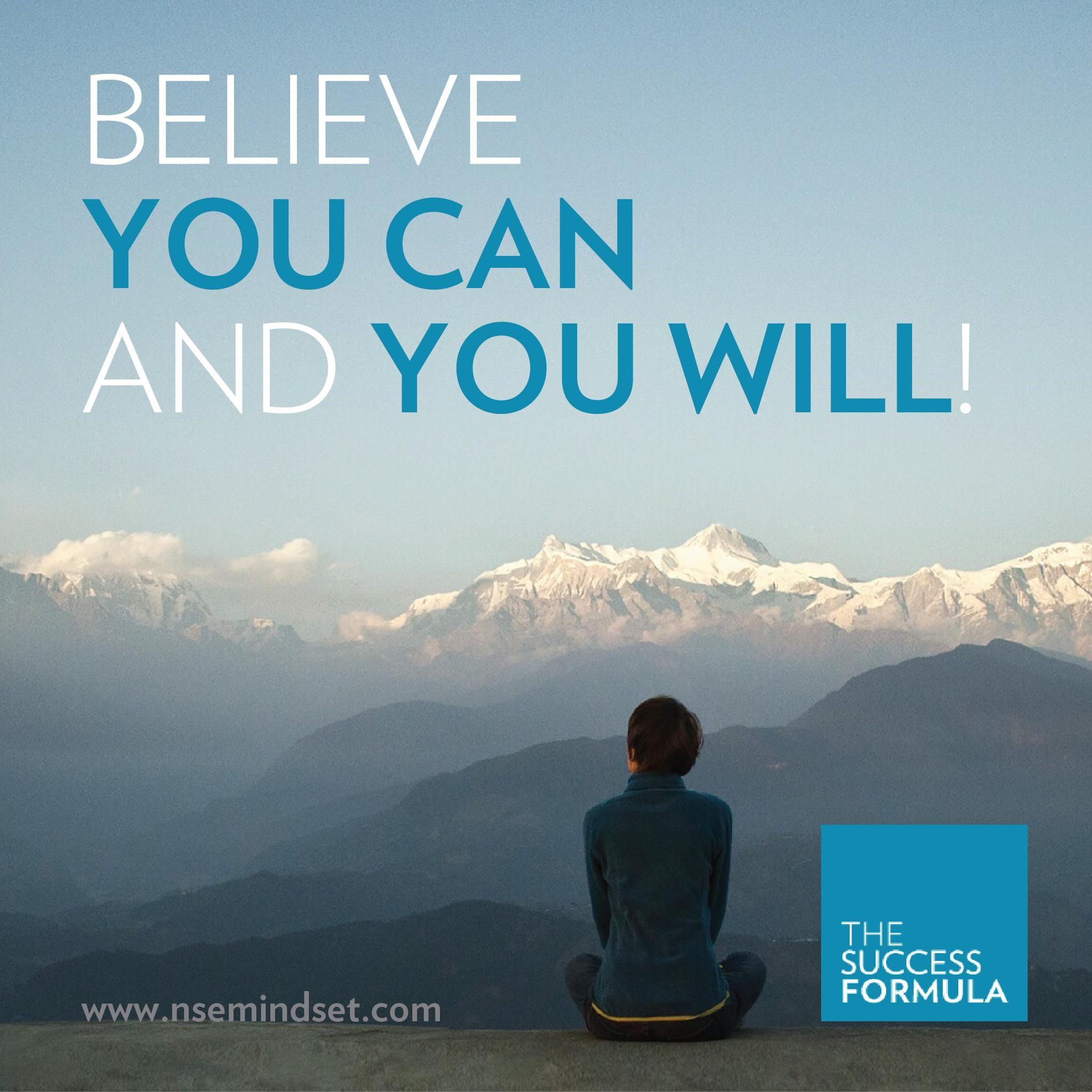 believe in yourself you can do it tsf successformula nuskin