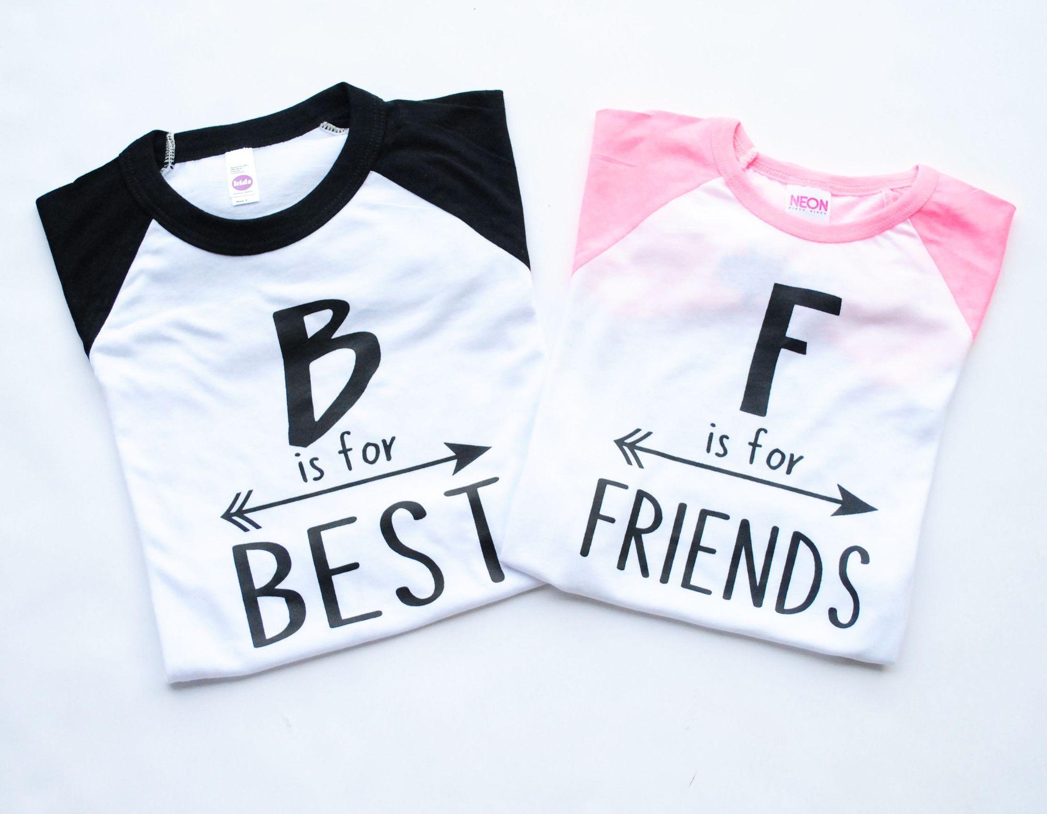 Monika i need these shirts i 39 ll take the black one she - Bff geschenke ...