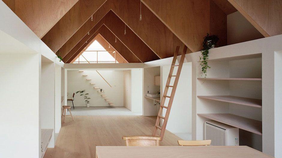 designline wohnen projekte dreiklang unterm dach architecture pinterest. Black Bedroom Furniture Sets. Home Design Ideas
