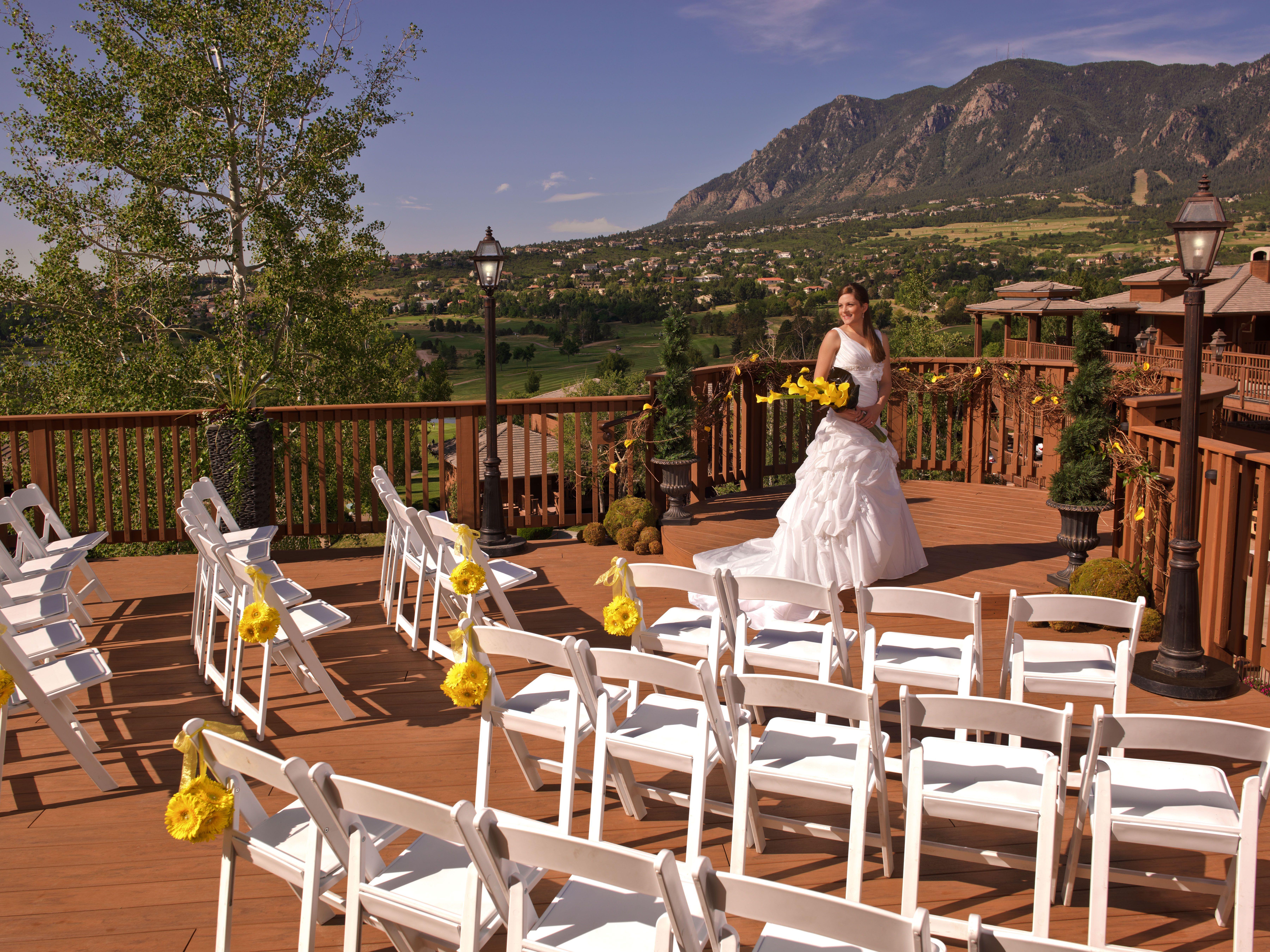 Wedding at Cheyenne Mountain Resort Colorado Springs