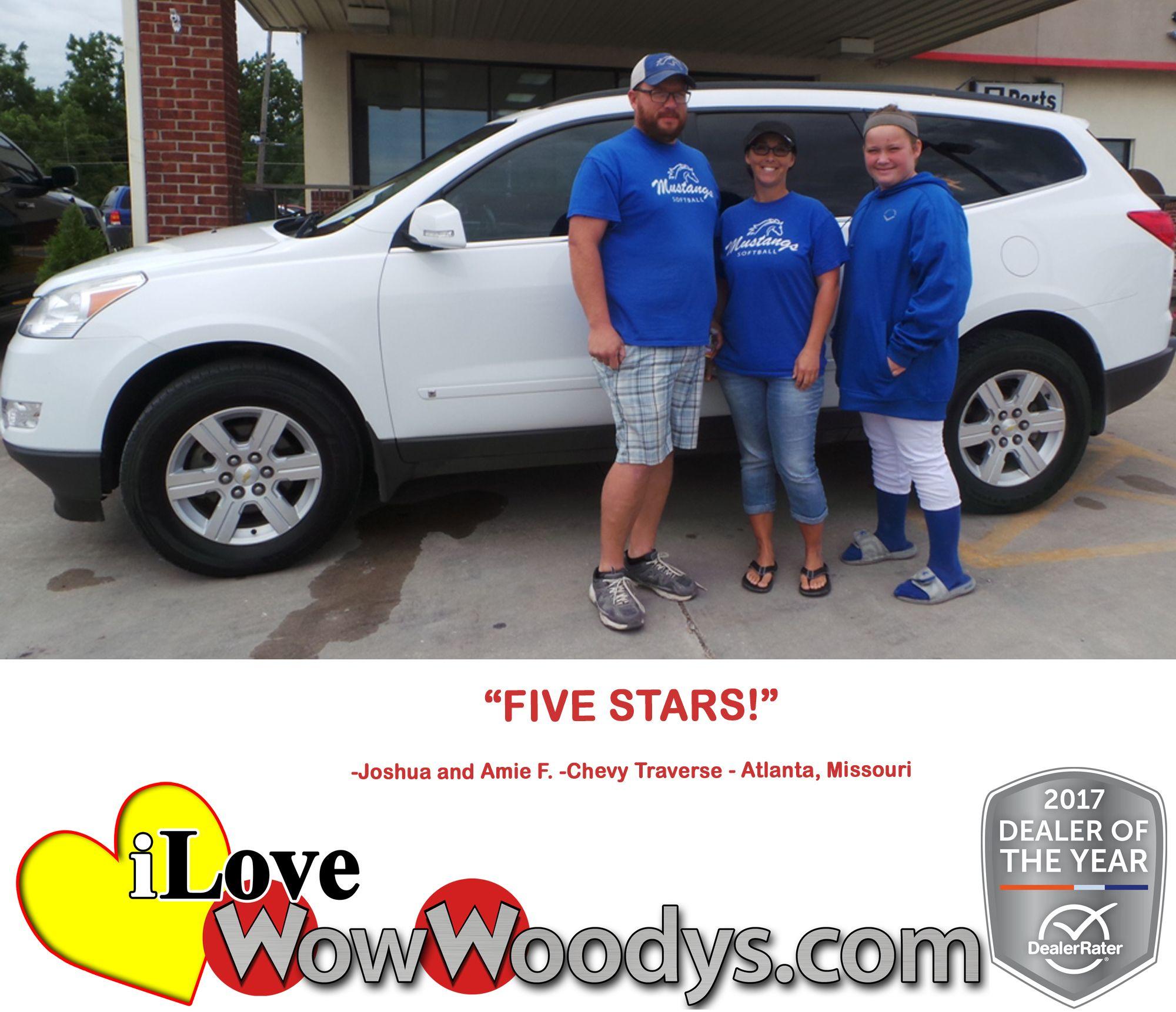 "FIVE STARS!"" Joshua and Amie F. Atlanta, Missouri | Over 10,000 ..."