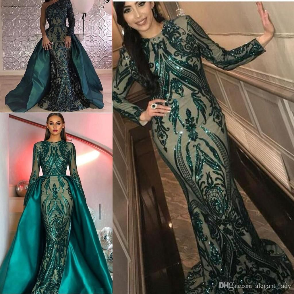Long Green Dress Vintage Evening Dress Gold Lined Dress Shiny Jade Dress Stunning Green Outfit Elf Queen Gown Retro Sequin Dress