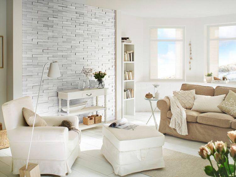 Kreative Wandgestaltung Im Wohnzimmer 3d Wandpaneele Steinwand Wohnzimmer Wandgestaltung Wohnzimmer Und Wandgestaltung