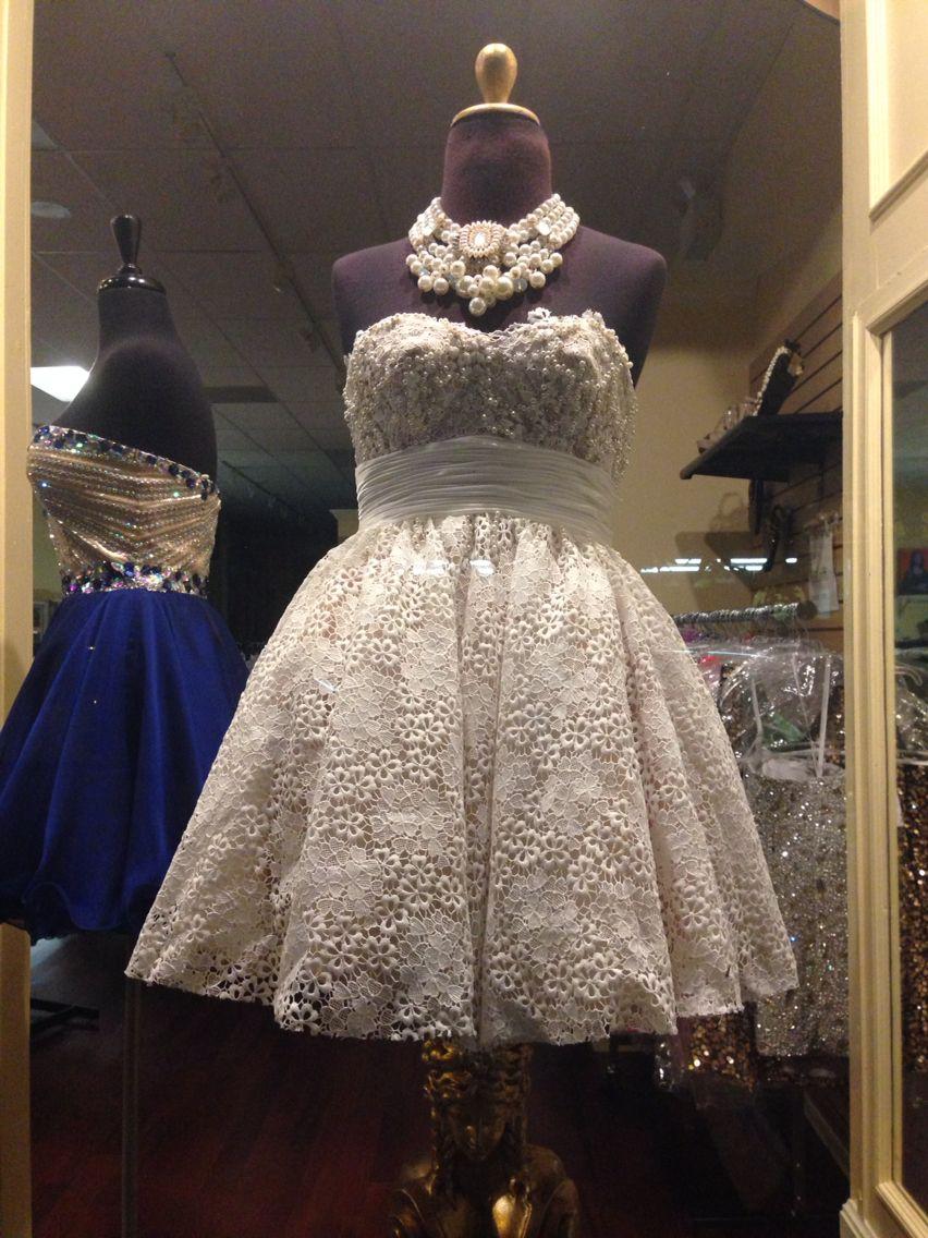 Reception dress idea seen at lexus of carytown in richmond va