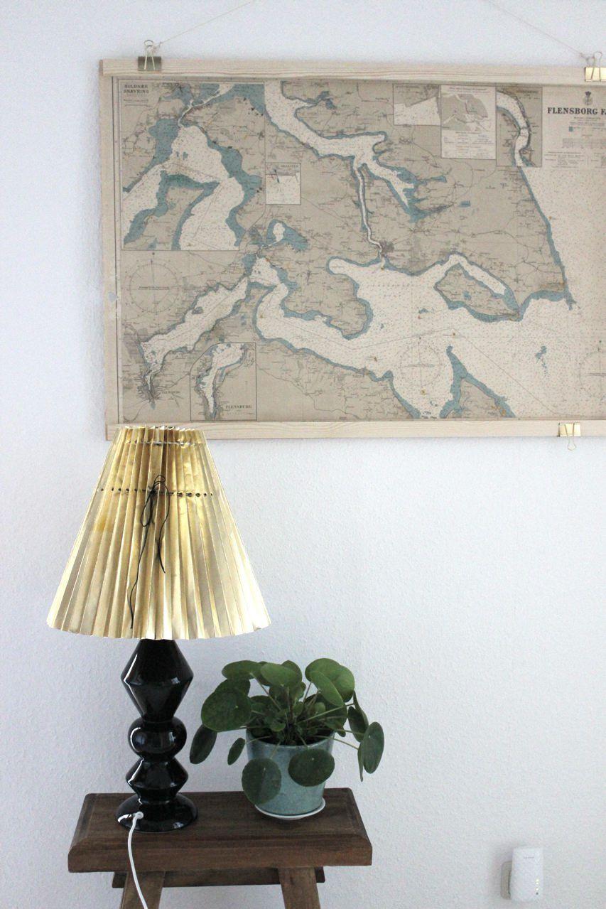 ludorn alte Landkarten hängen