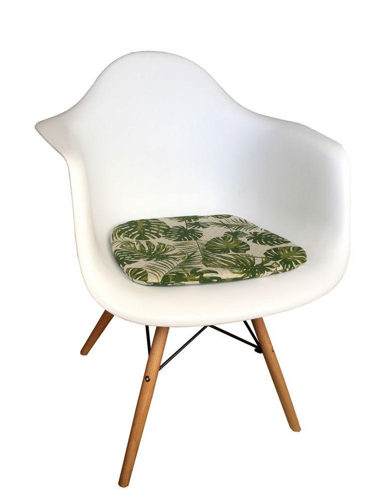 Palmen Blätter Sitzauflage Kissen Sitzkissen Für Eames DAW DAR Angesagt |  EBay