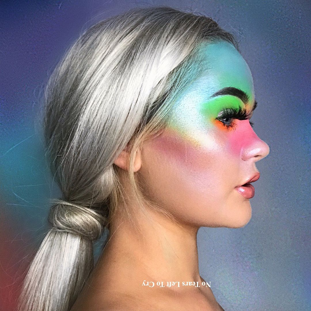 Ariana Grande No Tears Left To Cry Makeup Ntltc Inspired Look