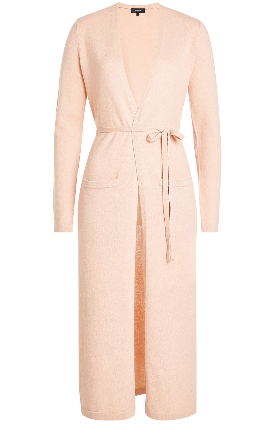 THEORY - Belted Cashmere Cardigan | STYLEBOP