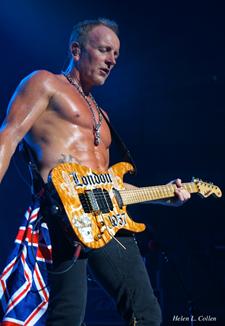 Phil Collen Lead Rhythm Guitar Phil Collen Def Leppard Def Leppard Band