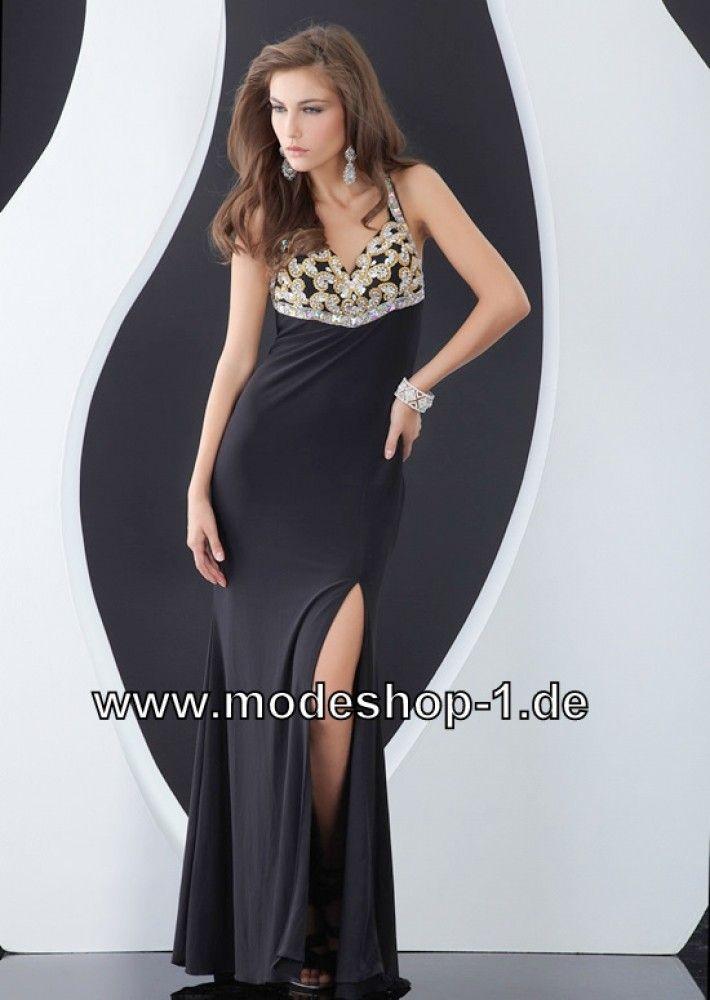 058bf0644e5d Schwarzes Neckholder Kleid Abendkleid im Online Mode Shop   XXL Auswahl - Günstige  Mode - Versand