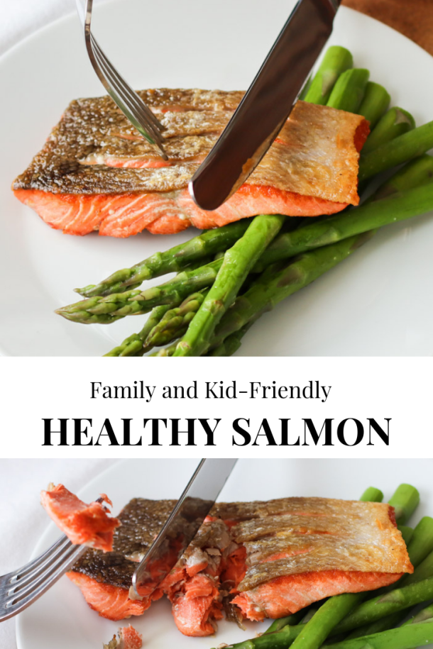 The method of preparing this salmon produces the crispiest ...