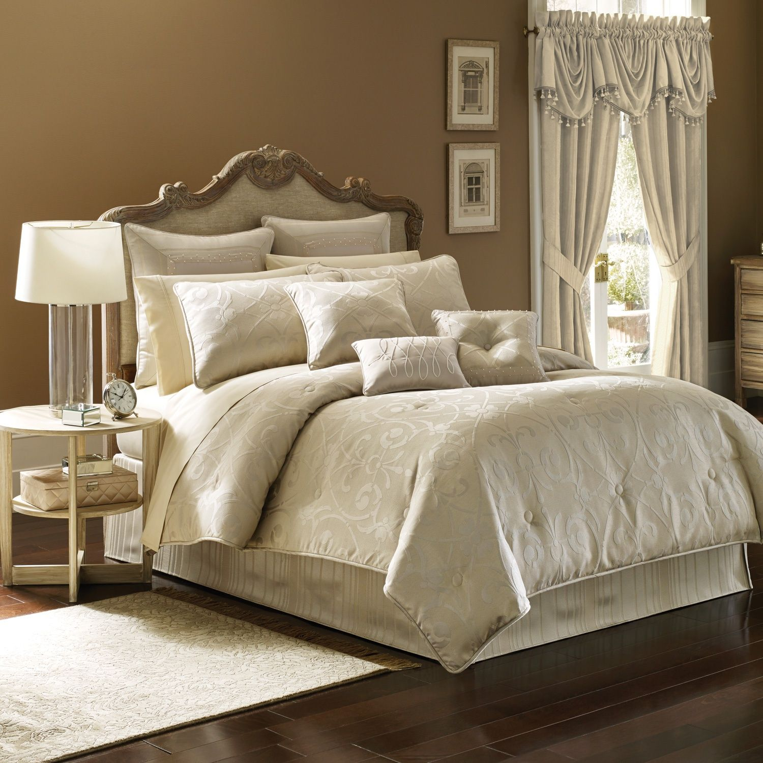 Comforters Sets, Bedding Collections, & Down Comforters at Linens ...