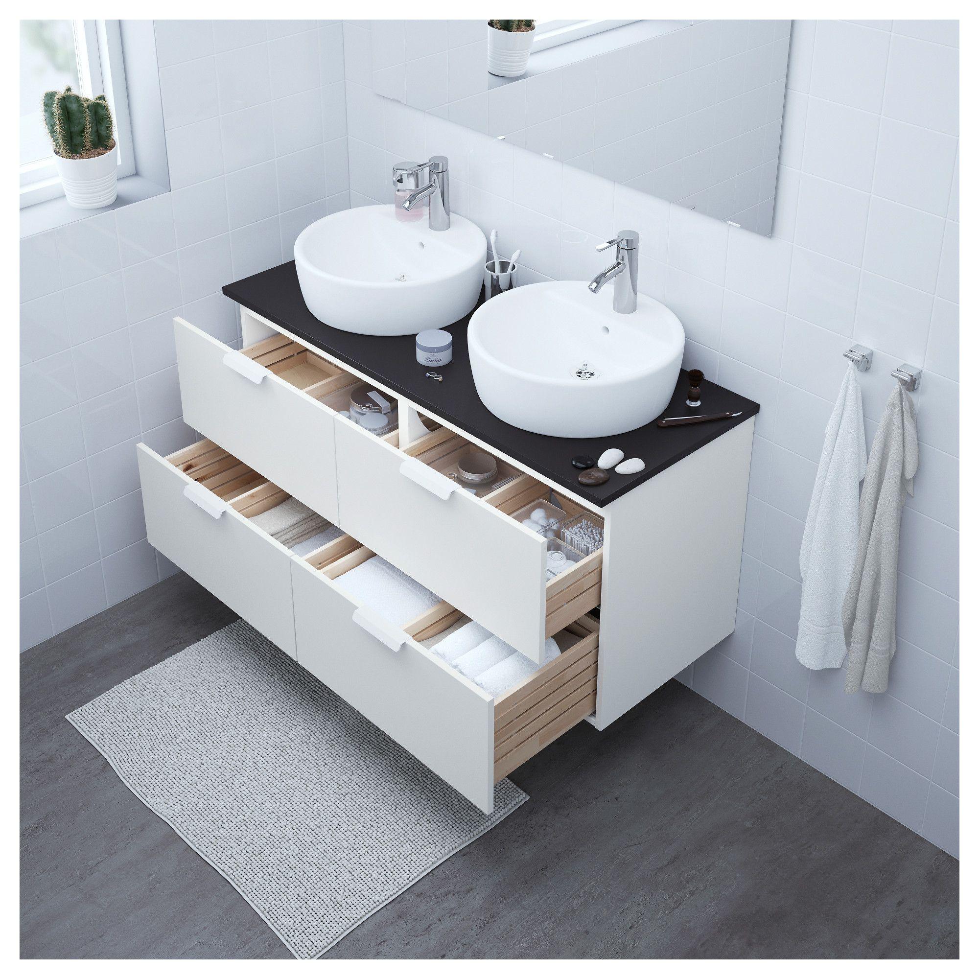 Strange Ikea Godmorgon Tolken Tornviken White Anthracite Cabinet Download Free Architecture Designs Intelgarnamadebymaigaardcom