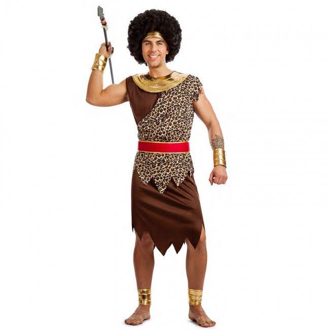 Disfraz de Africano para hombre #disfraces #carnaval #novedades2017