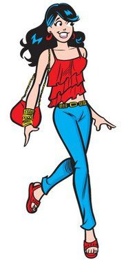 Veronica Is Always In Style Archie Comics Characters Archie Comics Archie Betty And Veronica