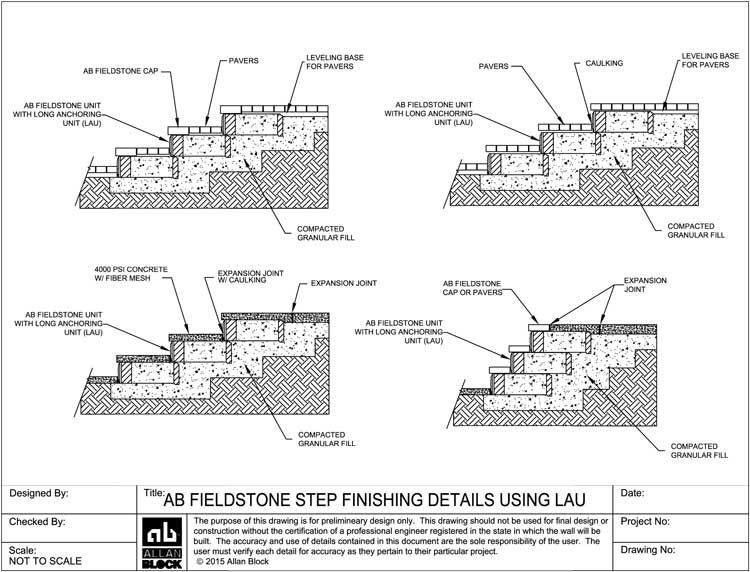 Image Result For Concrete Stair Construction Drawing
