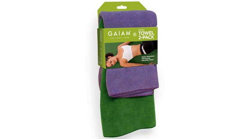 The Gym Season Grooming Goods You Need Yoga Towel Gaiam Yoga Yoga Accessories
