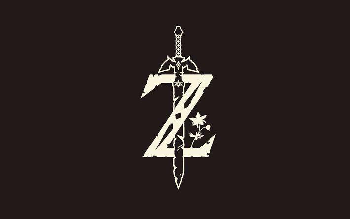 The Legend Of Zelda Logo 4k Minimal Legend Of Zelda Tattoos Zelda Tattoo Legend Of Zelda Breath