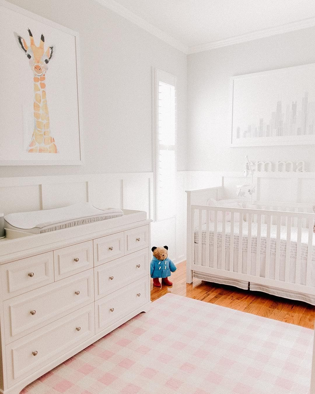 PB Kids 4 Piece Navy Harper Nursery in 2020 Pottery barn