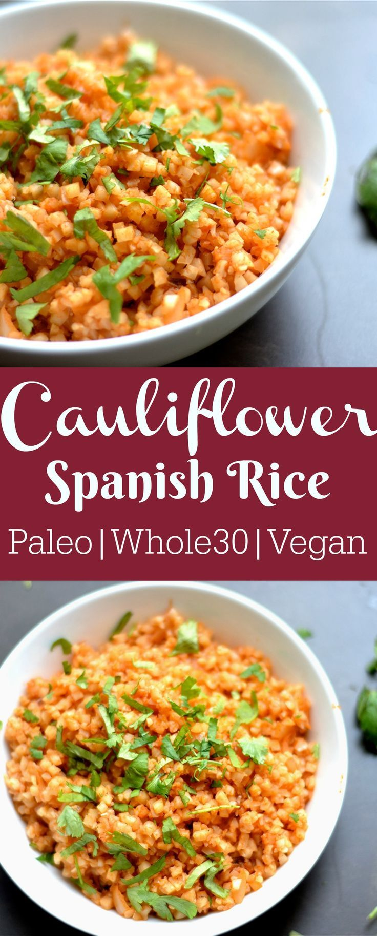 Cauliflower Spanish Rice
