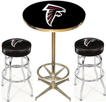 Atlanta falcons pub table set for the hubby pinterest pub start tab description the dallas cowboys nfl pub table set includes the dallas cowboys pub table and two dallas cowboys bar stools watchthetrailerfo