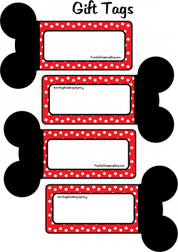 9ee72d124b Mickey Free Printable: tags, bookmarks, banners,etc. Minnie and other  characters also.
