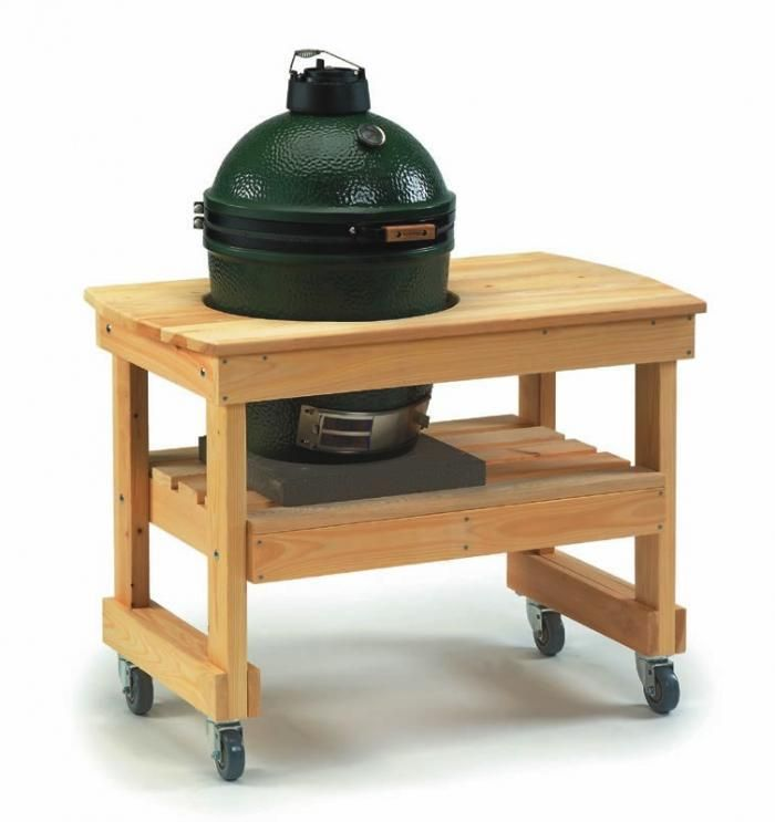 steal this look the ultimate outdoor kitchen big green egg table big green egg medium big on outdoor kitchen on wheels id=56349