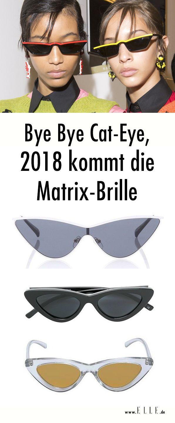 Martix-Brille: der Sonnenbrillen-Trend 2018