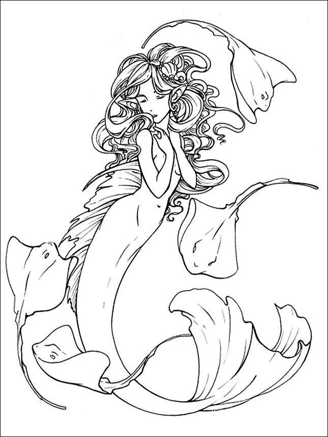Ausmalbilder Topmodel Meerjungfrau Google Trends Kunst Mit Meerjungfrauen Meerjungfrau Malerei Meerjungfrau Cartoon