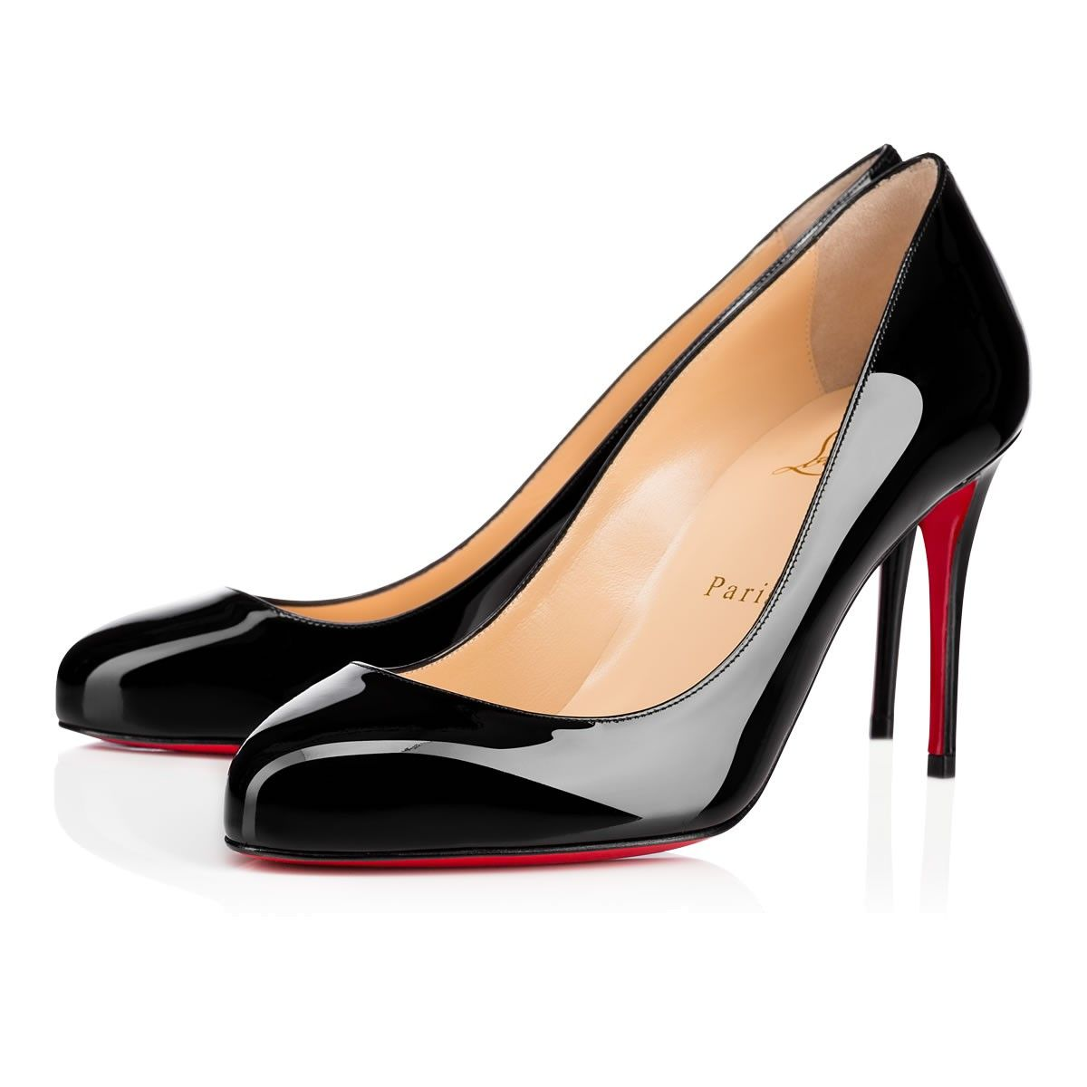 3a6d094763 CHRISTIAN LOUBOUTIN Dorissima 85Mm Black Patent Leather. #christianlouboutin  #shoes #