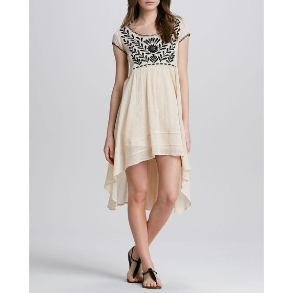 Women S Marina Embroidered High Low Dress Free People