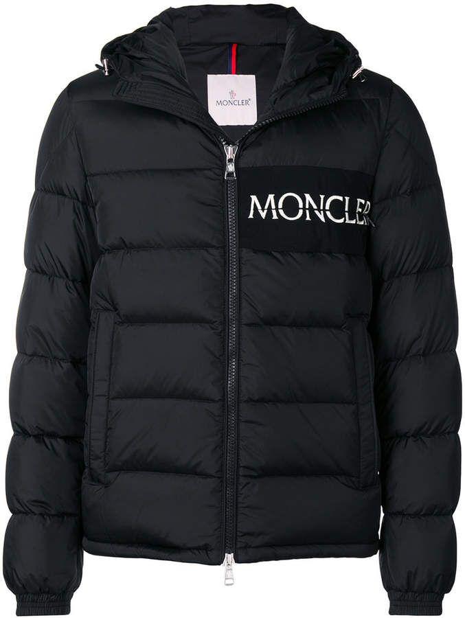 b296ea2ed Moncler padded logo jacket | Shop | Jackets, Outerwear jackets ...