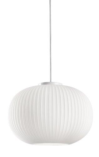Pendel Fred O30xh20cm Hvid Jysk Pendant Light Lamp Bulb