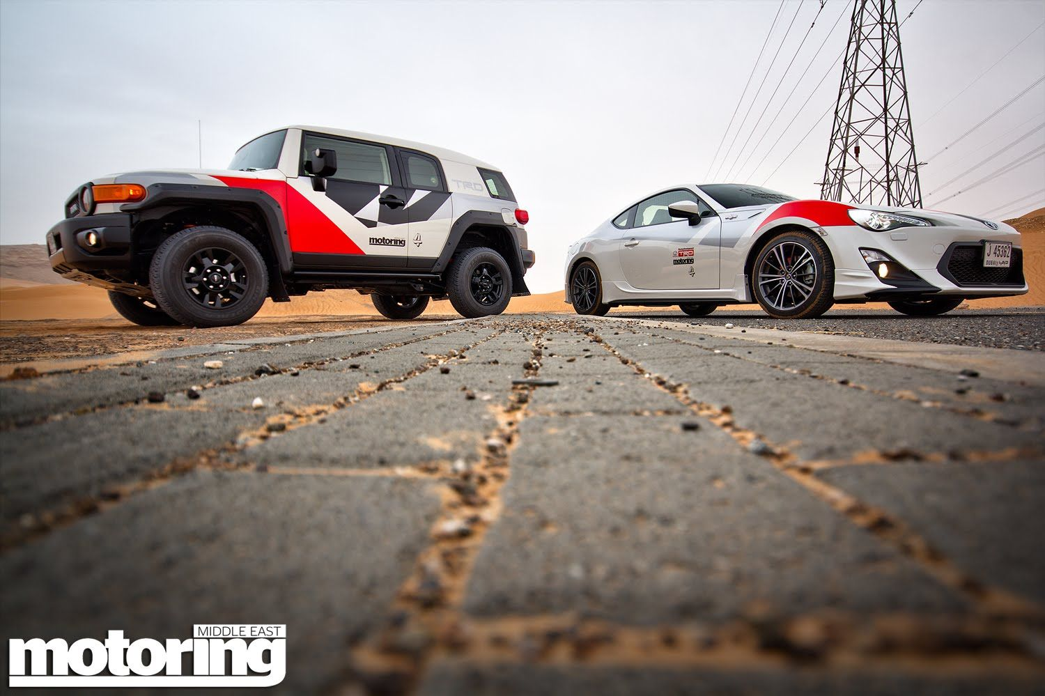 Can a Toyota FJ Cruiser beat a Toyota 86 across country?
