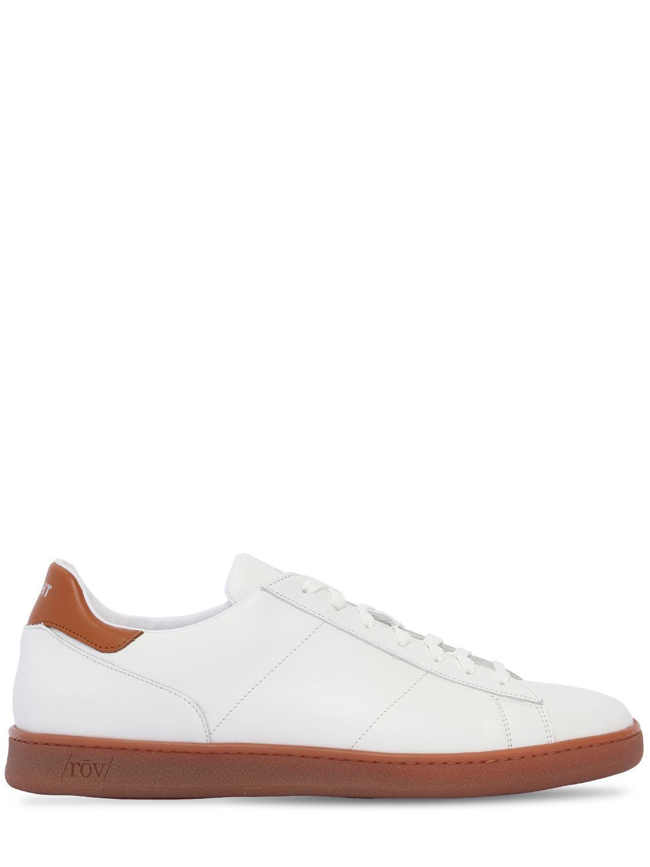 Sneaker Blanc Et Bleu Rov XqtPy