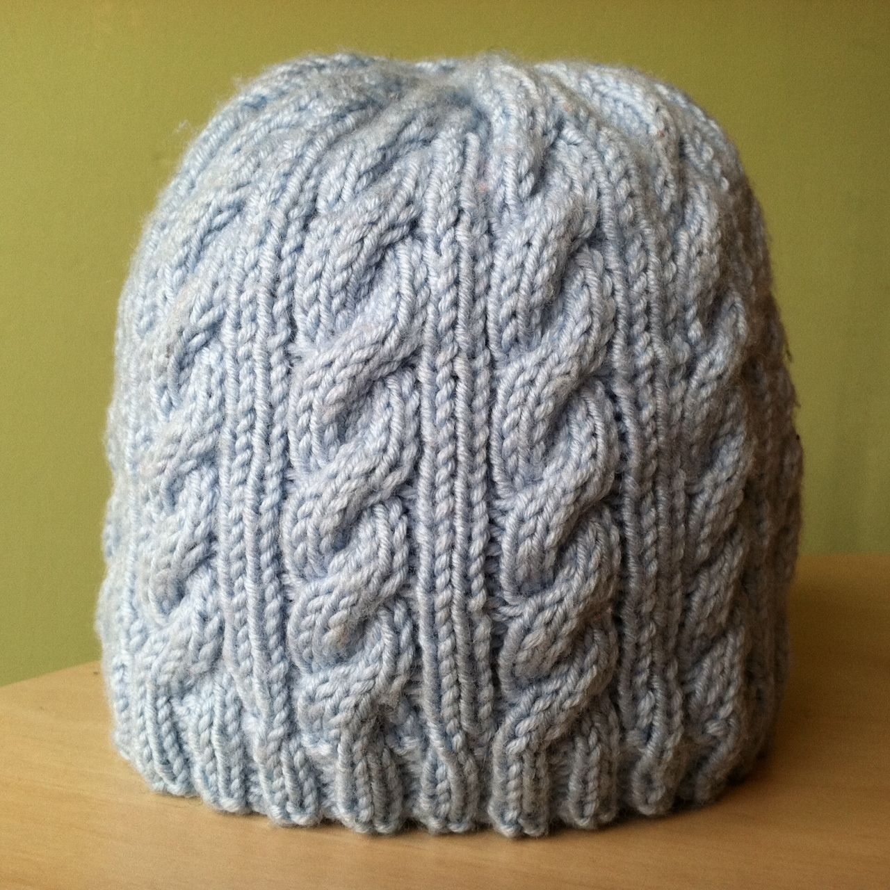 Very Easy Knit Hat Pattern  86a2ef357f8