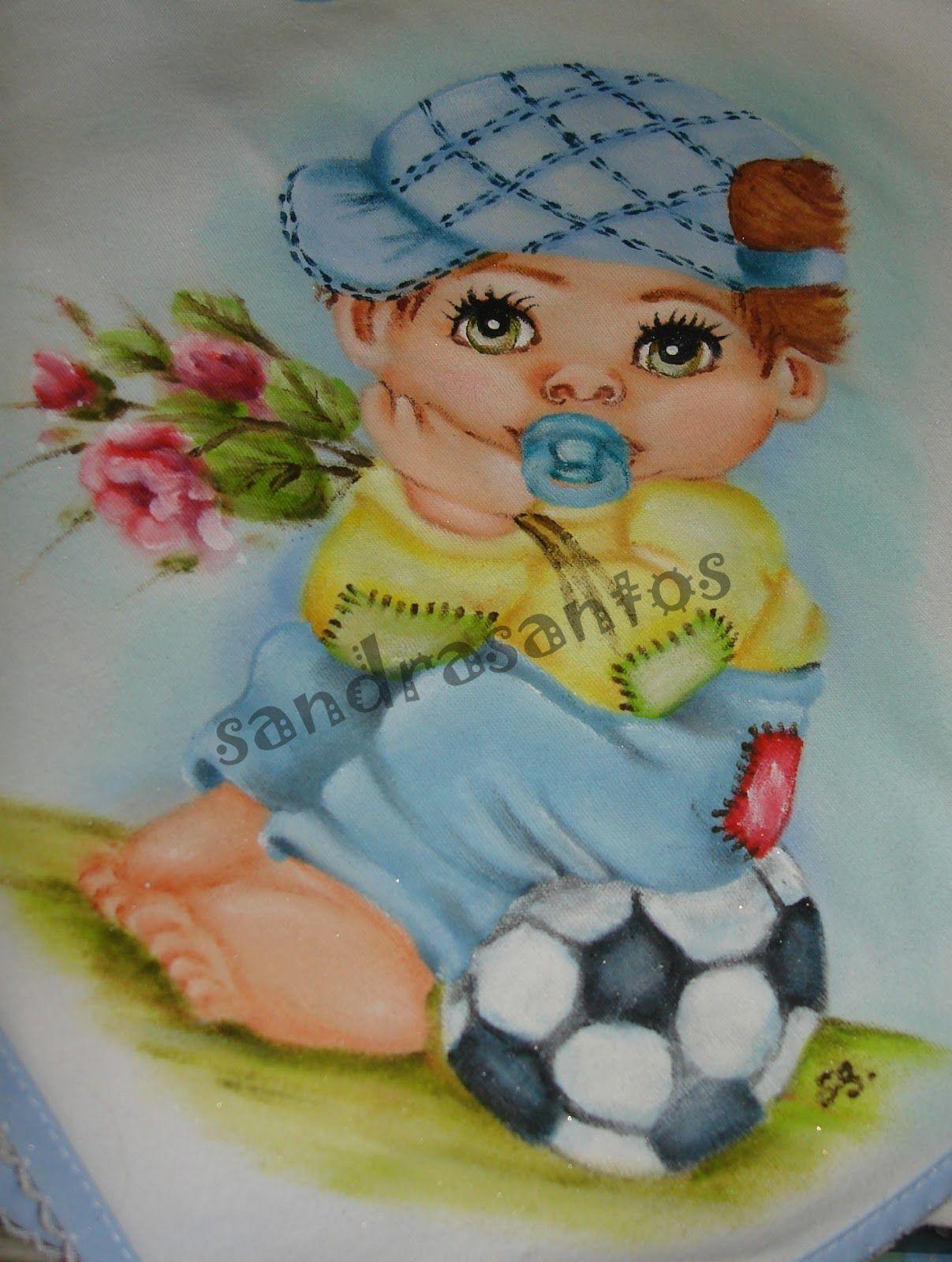Riscos de bebes na praia para pintura em tecido - Patrones para pintar en tela ...