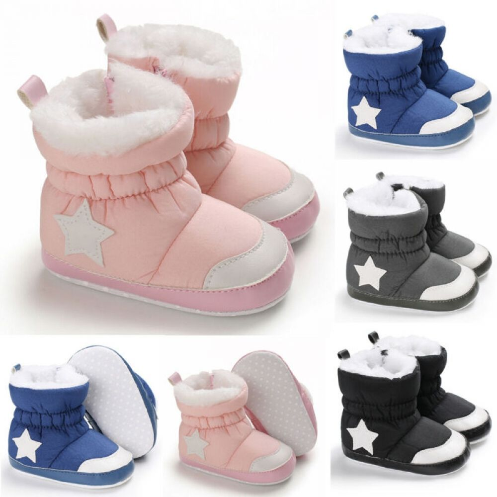 Winter Baby Snow Boots 12-18 Months