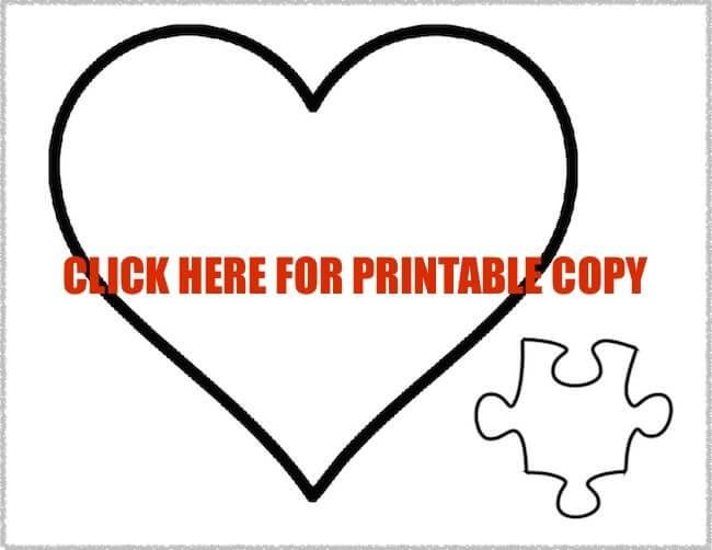 Free Printable Puzzle Piece Pattern