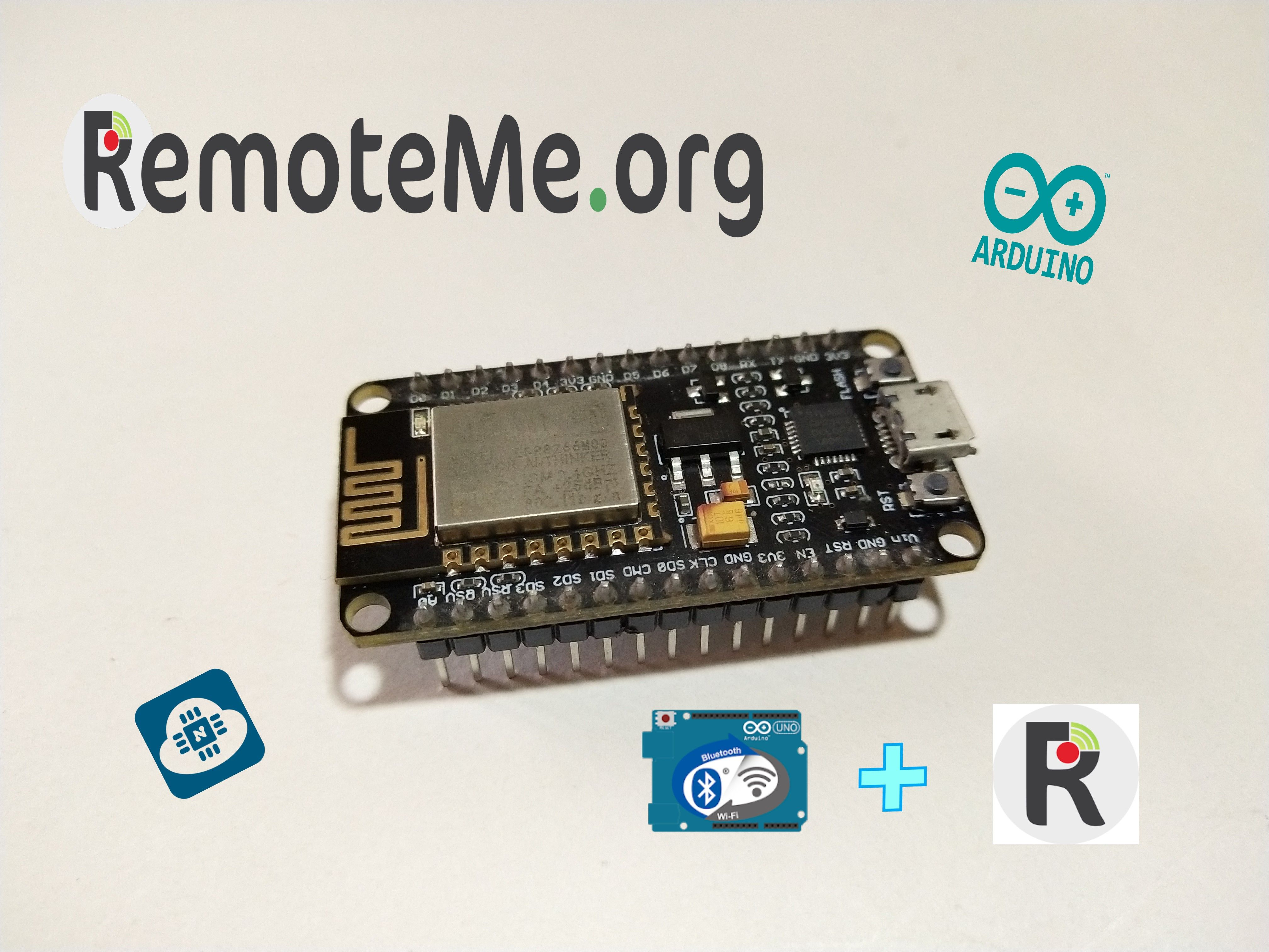 Home Automation Using RemoteMe & Arduino Remote LITE App